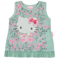 Blusa Hello Kitty Baby  Tam G - 6 a 9 meses - Hello  Kitty