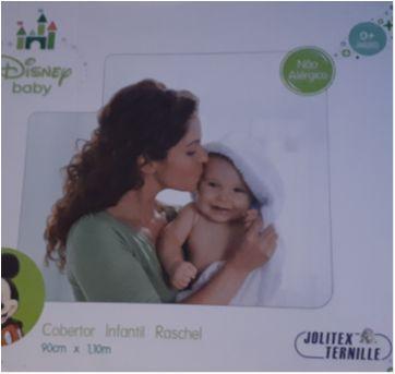 Cobertor Disney baby jolitex - Sem faixa etaria - jolitex