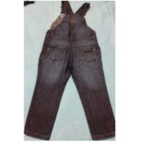 Jardineira jeans - 12 a 18 meses - marca variada