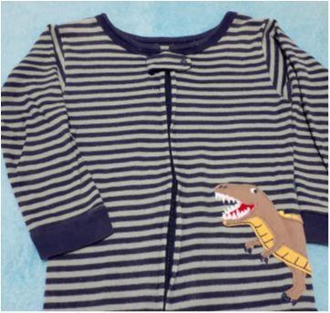 Macacão Pijama Carters Zíper E Pé - 18 a 24 meses - Carter`s