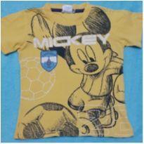 Camiseta mickey - 1 ano - marca variada