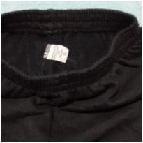 Calça preta moletom - 2 anos - marca variada