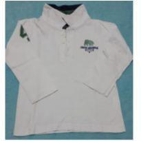 Camiseta manga longa - 1 ano - Sem marca