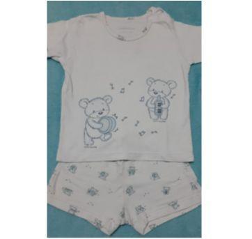 Pijama verão - 6 a 9 meses - Dedeka
