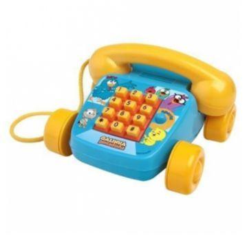 Telefone Sonoro Galinha Pintadinha Mini - Sem faixa etaria - Elka