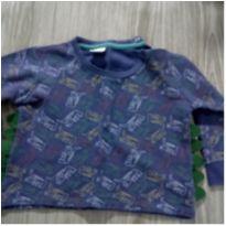 Moletom Dinossauro Teddy Boom - 9 a 12 meses - Teddy Boom