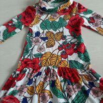 Vestido floral - 6 anos - PUC