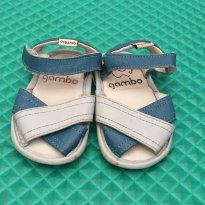 Sandália em couro Gambo n°17 (P147) - 17 - gambo