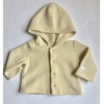 Casaquinho em fleece BIBE P (P312) - 0 a 3 meses - BIBE