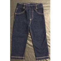 Calça jeans moletinho Carter's (24M) (P368) - 18 a 24 meses - Carter`s
