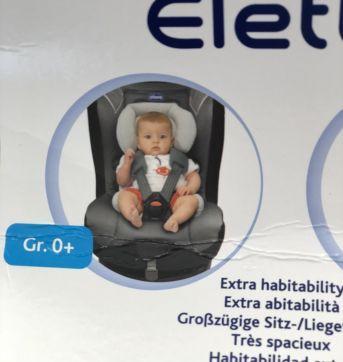 Almofada redutora para cadeira Eletta Chicco Original (P394) - Sem faixa etaria - Chicco