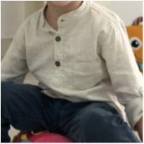 Camisa social Dror (P428) - 2 anos - Não informada