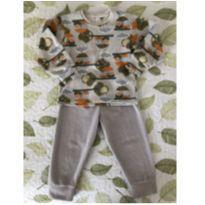 Pijama fleece Ninna Nana (P437) - 2 anos - Não informada