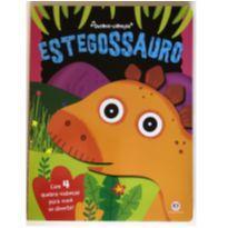 Livro com quebra-cabeças Estegossauro (P461) -  - Ciranda Cultural