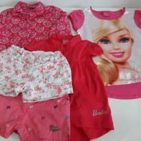 Kit com 05 peças para meninas com 8 anos - 8 anos - Barbie