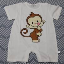 Macacão Infantil - Estampado - 9 a 12 meses - Não informada