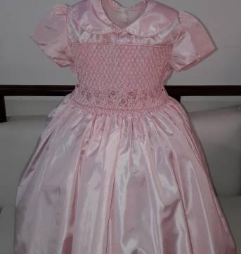 Vestido de festa casinha de abelha - 4 anos - Não informada