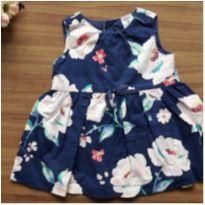 Vestido floral - 3 meses - Carter`s