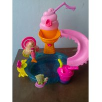 Pista piscina da Polly - Sem faixa etaria - Mattel