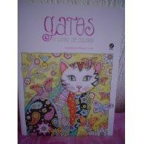 Gatos, O Livro de Colorir - Sem faixa etaria - Galera Record