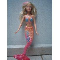 Barbie sereia - Sem faixa etaria - Mattel