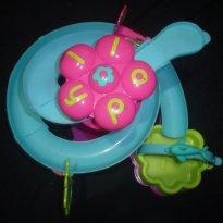 Tobogã da Polly com mini carro - Sem faixa etaria - Mattel