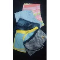 Lote de shorts para meninas - 8 anos - Neck & Neck e Gymboree