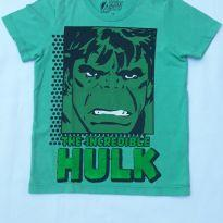 Camiseta Hulk - 4 anos - MARVEL