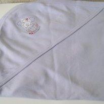 0181-Manta lilás em malha - tema ursinho - Vichy Lipe - Sem faixa etaria - VICKY LIPE