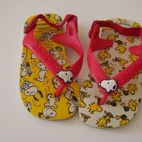 0467-Primavera: Chinelinho Snoopy Havaianas - 20 - Havaianas