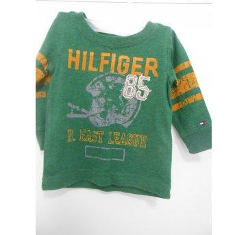 0653-Camiseta manga longa Tommy - 3 a 6 meses - Tommy Hilfiger
