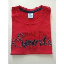0853-Camiseta Sports vermelha - 4 anos - DDK