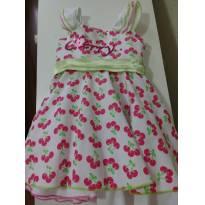 0869-Vestido cerejas Cherry - 2 anos - 2001