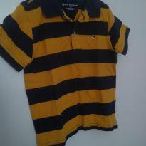 1576-Camisa polo listrada - 24 a 36 meses - Tommy Hilfiger