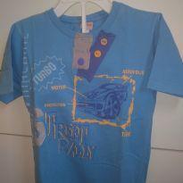 1601-Camiseta azul carro - 24 a 36 meses - Kids Minis