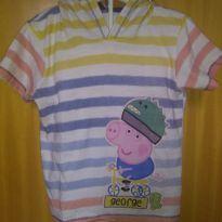 1610-Camiseta George Pig - 24 a 36 meses - Não informada