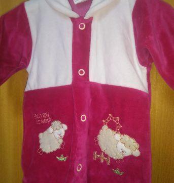 1629-Macacão pink carneiros - Prematuro - Celui Baby