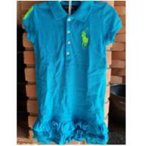 1650-Vestido turquesa - 4 anos - Ralph Lauren