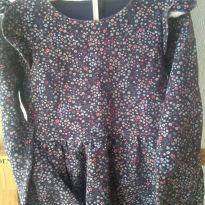 1706-Vestido floral manga longa - 4 anos - Poim