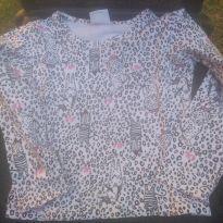 1719-Camiseta oncinha manga longa - 24 a 36 meses - Duzizo