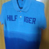 1767 - Camisa polo azul Tommy