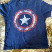 1813 - Camiseta capitão América - 4 anos - MARVEL