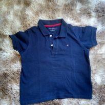 1810 - Camiseta polo azul marinho - 4 anos - Tommy Hilfiger