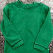 1824 - Camiseta quentinha verde - 3 anos - Quechua