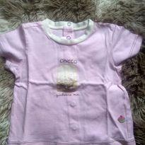 1843 - Camisetinha rosa Chicco - 6 meses - Chicco