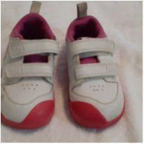 Tenis Nike  Pico - branco e rosa 7,5 (22,5) Promoção!!! - 22 - Nike
