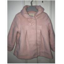 Casaco fofinho (fleece) rosa - 3 anos - Baby Club