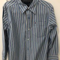 Camisa social tommy 5-6 anos - 6 anos - Tommy Hilfiger