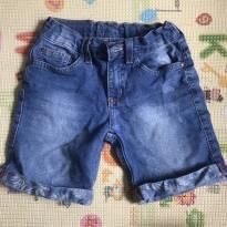 Bermuda Shorts Jeans - 4 anos - C&A e Só meninos