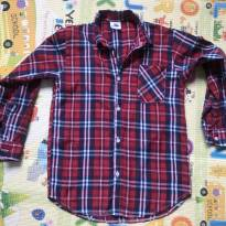 Camisa Xadrez Vermelha Festa Junina - 6 anos - Tango Fashion e Festa Junina